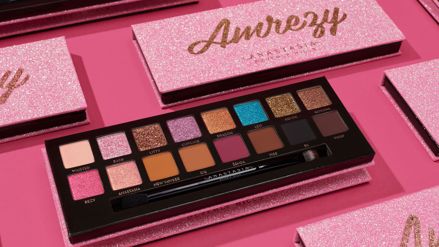 Amrezy Eye Shadow Palette